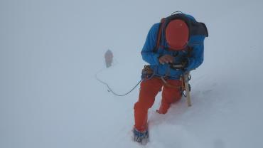 IFMGA Without, Professional Mountain Guide Course, Piz Scherschen, Photo Kurt Walde.JPG